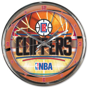 Chrome Clock - Clippers