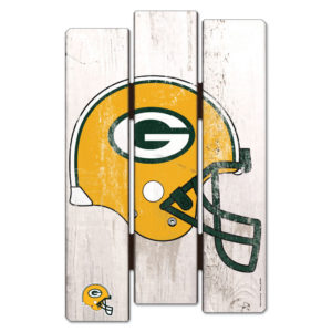 Wood Fence Sign - Green Bay Packers